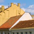 Red tile roof of Vilnius Old Town buildings — Stock Photo #10860494