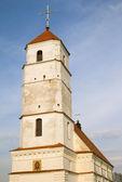 Ortodoxa kyrkan av frälsarens förvandling i zaslawye, vara — Stockfoto
