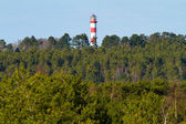 Lighthouse in Nida, Lithuania — Foto Stock