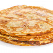 Stack of pancakes isolated on white background — Stock Photo #11550267