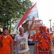 Netherlands fans - Stock Photo