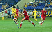 FC Metalist vs FC Illichivets soccer match — Stock Photo