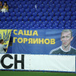 FC Metalist Kharkiv fans — Stock Photo