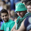 AC Omonia Nicosia fans — Stock Photo