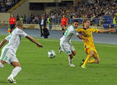 FC Metalist Kharkiv vs AC Omonia Nicosia match — Stock Photo
