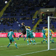 FC Metalist Kharkiv vs FC Obolon Kyiv football match — Photo