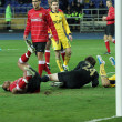 Stock Photo: Metalist Kharkiv vs Metalurh Zaporizhysoccer match