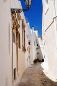 Ostuni Lane — Stock Photo