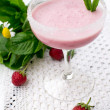 Strawberry milkshake — Stock Photo #11074164