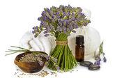 Lavender spa — Stock Photo