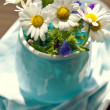 Bouquet daisies — Stock Photo