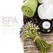 Lavender Spa — Stock Photo #11416205