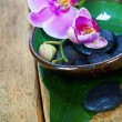 Stock Photo: Orchid Spa Composition