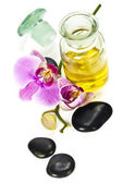 Orchid Spa Composition — Stock Photo