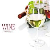 Wine and grape — Stock Photo