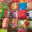 La Boqueria market in Barcelona - Spain — Stock Photo #10802039