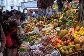 La Boqueria market in Barcelona - Spain — Stock Photo