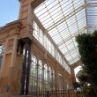 Greenhouse in ciudadela park — Stock Photo
