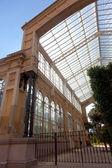 Greenhouse in ciudadela park — Stock Photo
