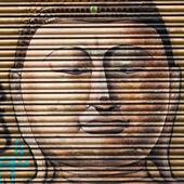 Γκράφιτι στο el γεννήθηκε περιοχή στη Βαρκελώνη - Ισπανία — Φωτογραφία Αρχείου