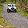 Stock Photo: Land Rover Tomcat rally