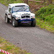 Land Rover Tomcat rally — Stock Photo