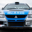 V. Mcaree Mitsubishi Evo - Stock Photo