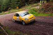 Ford Ka rally — Stock Photo