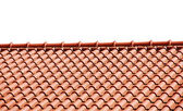 Telhas de telhado — Foto Stock