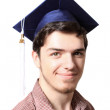 High school graduate - Foto Stock