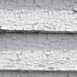 Peeling white paint — Stock Photo