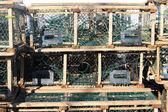 Lobster traps in P.E.I. — Stock Photo