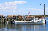 Barco de pesca marítima — Foto Stock
