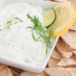 Tzatziki sauce — Stock Photo