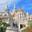 Budapest. Fisherman's Bastion and St. Matthias church — Stock Photo #10736570