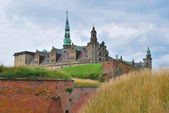 Castle Kronborg in Elsinore — Stock Photo