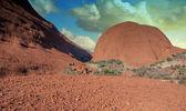 Formen des australischen outback northern territory — Stockfoto