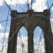 Brooklyn Bridge Architecture - Foto Stock