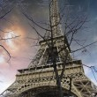 Eiffel Tower from the Bottom — Stock Photo #10968499