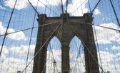 Brooklyn brug het platform — Stockfoto