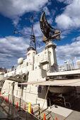 シドニーで固定されて戦争の潜水艦 — ストック写真