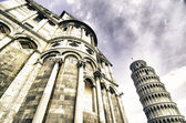 Facade of the Cathedral in Miracle Square, Pisa — Stock Photo