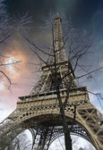 Eiffel Tower from the Bottom — Stock Photo