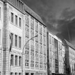 Berlin Buildings near Spree River with Dramatic Sky - Stock Photo