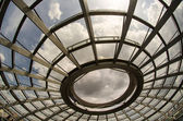 Modern Dome Interior of Reichstag in Berlin, Germany's parliamen — Foto Stock