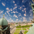 Stock Photo: Aerial view of Berlin from the Cathedral