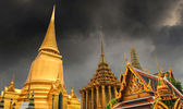Temple in Thailand - Wat in Bangkok — Stock Photo