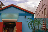 Dettaglio dell'architettura caraibica — Foto Stock