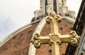 Cross of Florence, symbol of the City — ストック写真