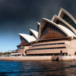 Sydney Opera House with Bad Weather — Stock Photo
